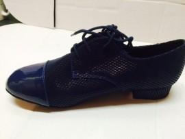 Robert Blue Patent Ballroom Dance Shoe