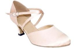Carol - Flesh Satin - Ballroom Dance Shoe