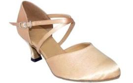 Carol Tan Satin - Ballroom Dance Shoe