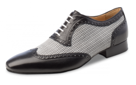 Mambo Black & White Ballroom Dance Shoe